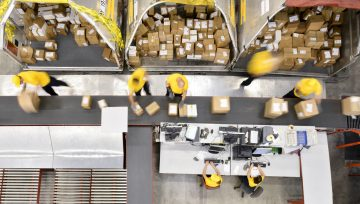 Parcel shipments passed 100B in 2019, will double by 2026